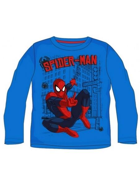 Chlapecké tričko s dlouhým rukávem SPIDERMAN - modré
