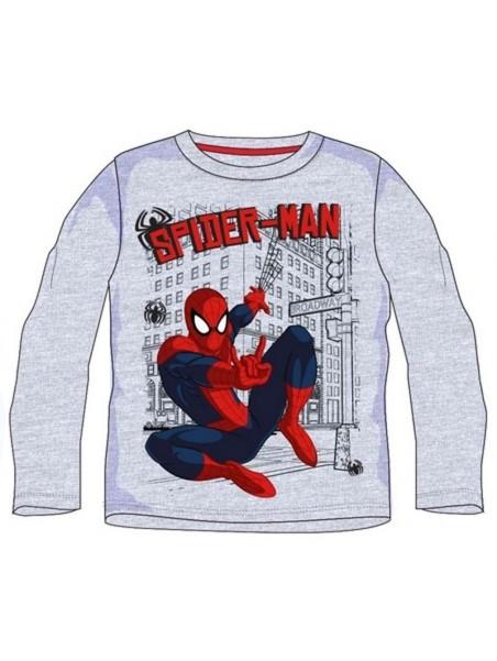 Chlapecké tričko s dlouhým rukávem SPIDERMAN - šedé