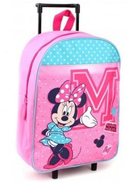 Detský kufor na kolieskach Minnie Mouse - Disney