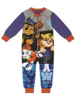 Chlapecké zimní pyžamo overal Tlapková patrola (Paw Patrol)