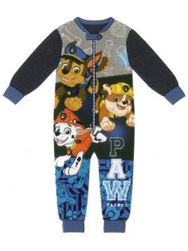 Chlapecké zimní pyžamo overal Tlapková patrola (Paw Patrol) -  modré