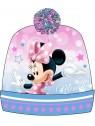 Dievčenská čiapka s brmbolcom Minnie Mouse