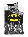 Bavlněné ložní povlečení Batman - černé
