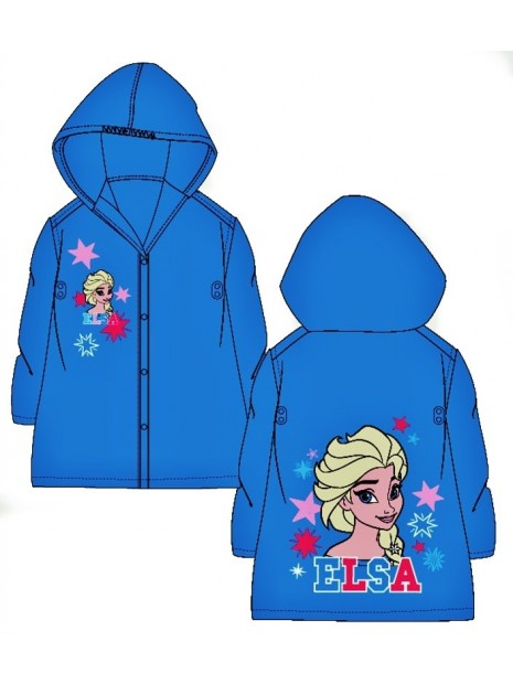 Dievčenská pláštenka Ľadové kráľovstvo FROZEN - modrá