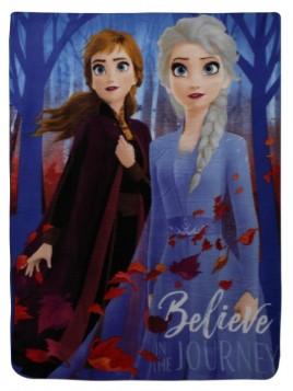 Detská deka s Annou a Elsou, Ľadové kráľovstvo II. (Frozen)
