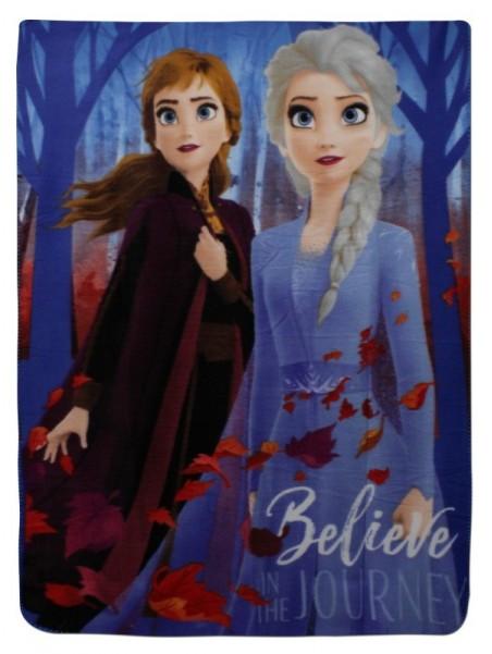 Dětská deka s Annou a Elsou, Ledové království II. (Frozen)