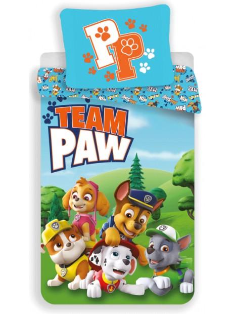 Dětské bavlněné povlečení Tlapková patrola - Paw Patrol - TEAM PAW
