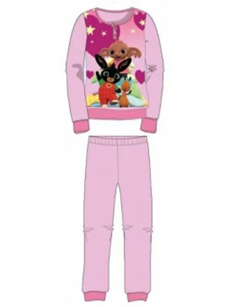 Dívčí bavlněné pyžamo králíček Bing - sv. růžové