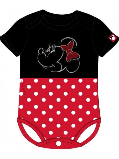 Kojenecké body s krátkým rukávem Minnie Mouse - Disney