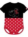 Dojčenské body s krátkym rukávom Minnie Mouse - Disney
