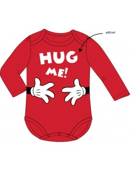 Dojčenské body s dlhým rukávom Minnie Mouse - Disney