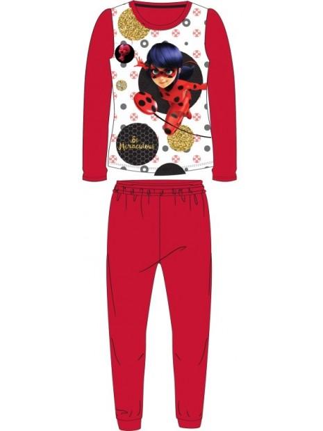 Dívčí pyžamo Kouzelná beruška / Ladybug - červené
