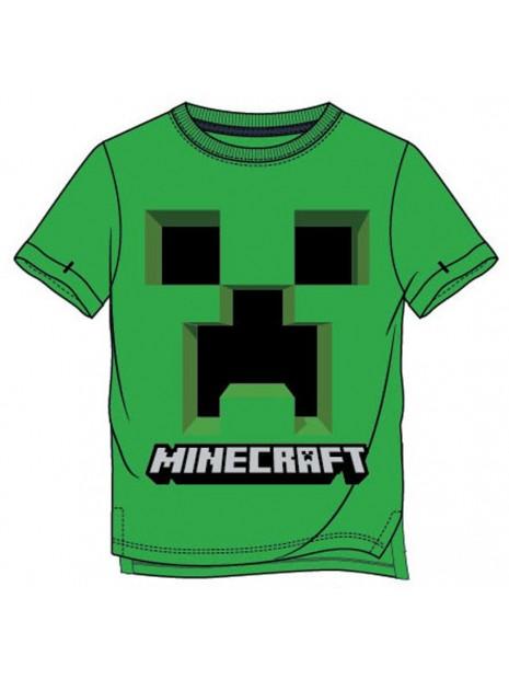 Chlapecké tričko s krátkým rukávem Minecraft - zelené