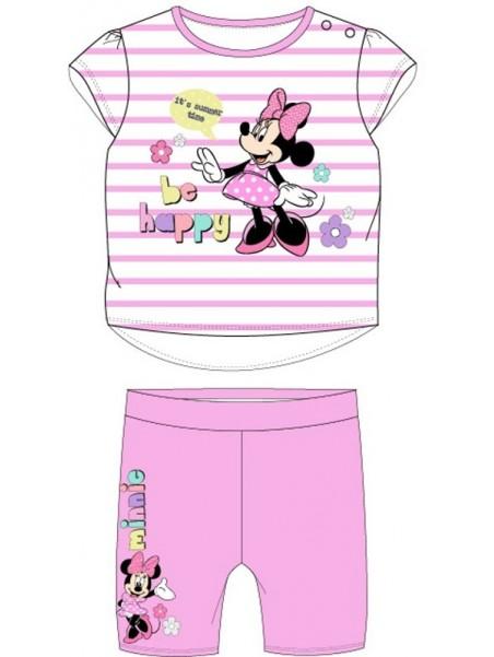 Kojenecká souprava Minnie Mouse - Disney - růžová