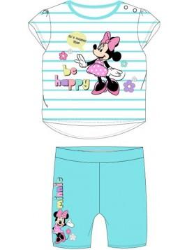 Dojčenská súprava Minnie Mouse - Disney - tyrkysová