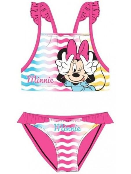 Dívčí dvoudílné plavky Minnie Mouse Disney - růžové