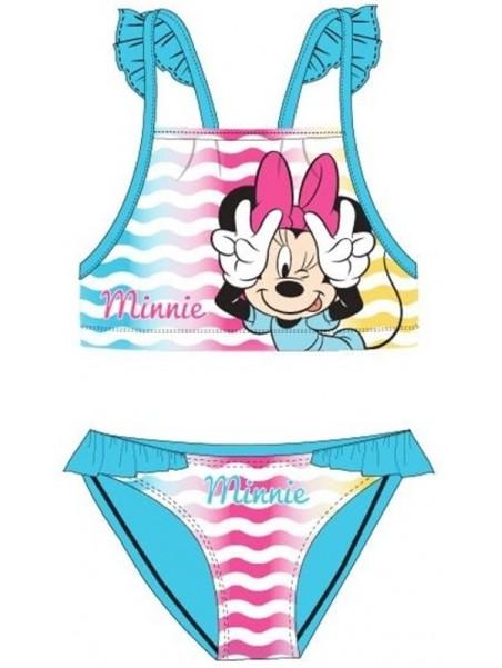 Dievčenské dvojdielne plavky Minnie Mouse Disney - tyrkysové