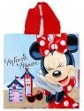 Dětské bavlněné pončo osuška s kapucí Minnie Mouse