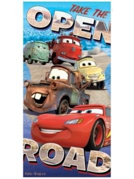 Detská bavlnená osuška Autá / Cars