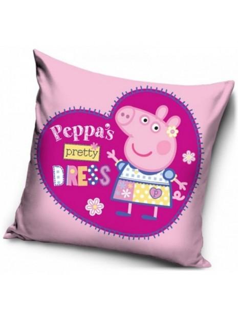 Dětský povlak na polštář prasátko Peppa - modelka