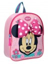 Detský batoh Minnie Mouse s mašľou - ružový