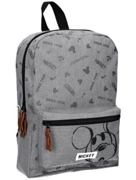 Dětský batoh Mickey Mouse - Disney - šedý