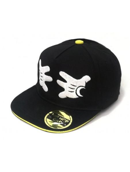 Kšiltovka snapback Hip Hop Mickey Mouse - černá