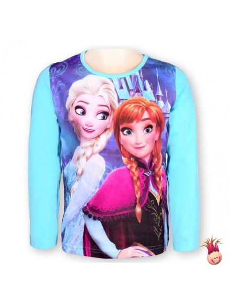 Dívčí tričko s dlouhým rukávem  Frozen