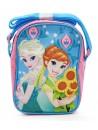 Dívčí taštička přes rameno (Cross) s licenčním obrázkem Elsy a Anny z oblíbené pohádky Ledové království (Frozen). Taška má jednu kapsu se zapínáním na zip a délkově nastavitelný popruh. Rozměr 21 x 15 x 8 cm.
