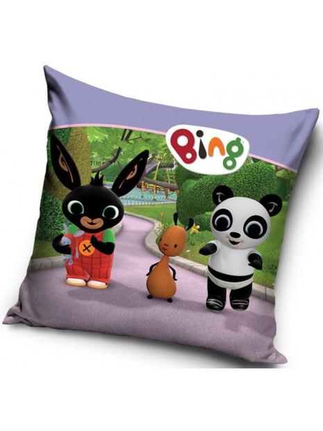 Dětský povlak na polštář zajíček Bing, Flop a Pando