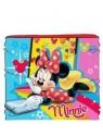 Dievčenské nákrčník Minnie Mouse Disney - červený