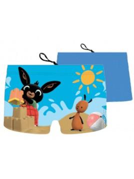 Chlapčenské plavky / boxerky Zajíček Bing - sv. modré