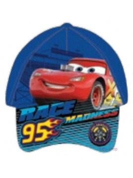 Chlapecká kšiltovka auta McQueen / Cars - modrá