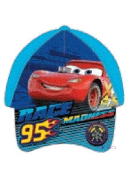 Chlapecká kšiltovka auta McQueen / Cars - sv. modrá