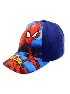 Chlapecká kšiltovka Spiderman - tmavě modrá