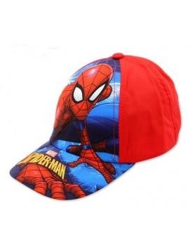 Chlapecká kšiltovka Spiderman - červená