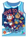 Chlapecký bavlněný nátělník  Tlapková patrola PAW PATROL - sv. modré