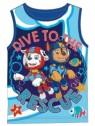 Chlapecký bavlněný nátělník  Tlapková patrola PAW PATROL - tm. modré