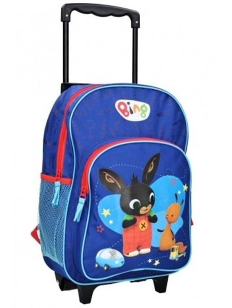 Detský cestovný kufor na kolieskach zajačik Bing