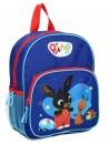 Cestovní batůžek s obrázkem zajíčka Binga a Flopa je vhodný pro předškolní děti i malé školáky na výlety. Batoh králíček Bing má jednu hlavní komoru a jednu přední kapsičku obě se zapínáním na zip. Má široké popruhy, které lze délkově nastavovat, ouško pro přenášení v ruce nebo pověšení. Rozměry batohu jsou 28 x 22 x 9 cm.