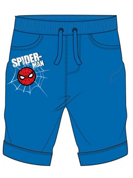 Chlapčenské kraťasy Spiderman - modré