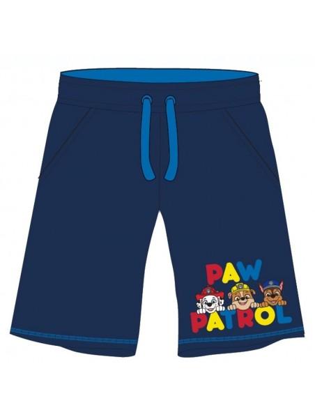 Chlapčenské kraťasy Tlapková patrola / PAW PATROL - tm. modré