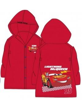 Chlapčenská pláštenka Autá McQueen 95 - červená