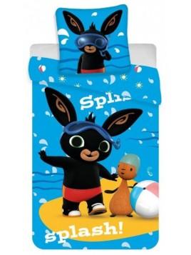 Detské bavlnené obliečky zajačik Bing - potápač