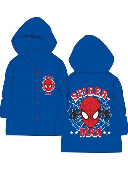 Chlapecká pláštěnka Spiderman - modrá