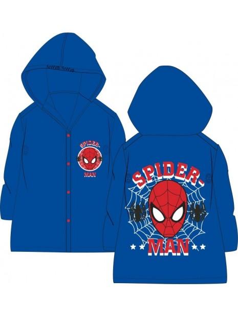Chlapčenská pláštenka Spiderman - modrá