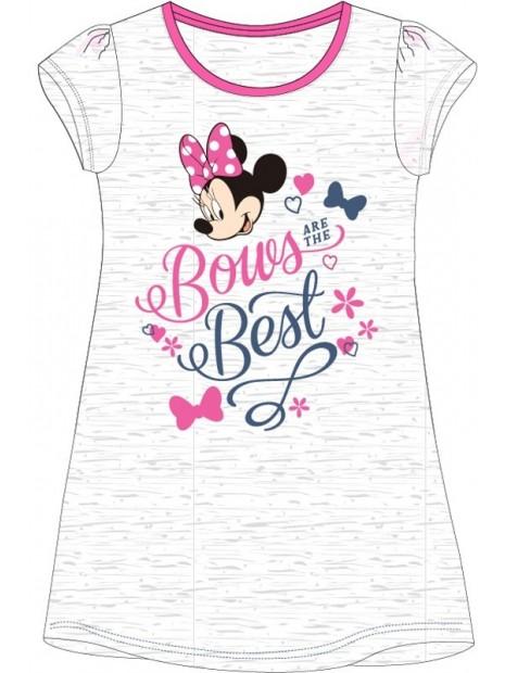 Dievčenská nočná košeľa Minnie Mouse (Disney) - sivá