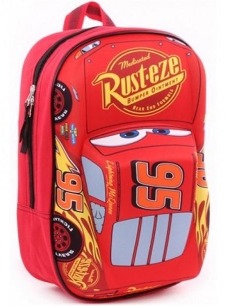 Detský plastický batoh Autá - Blesk McQueen