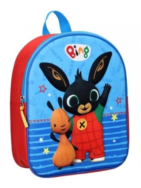 Dětský 3D batoh Zajíček Bing a Flop