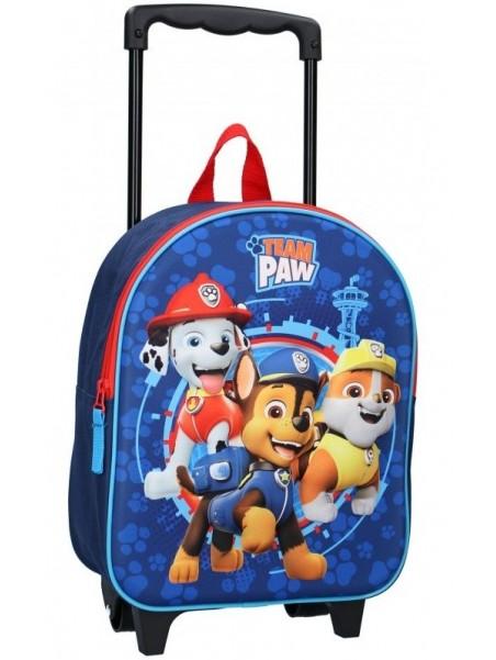 Dětský kufr na kolečkách Tlapková patrola - PAW PATROL